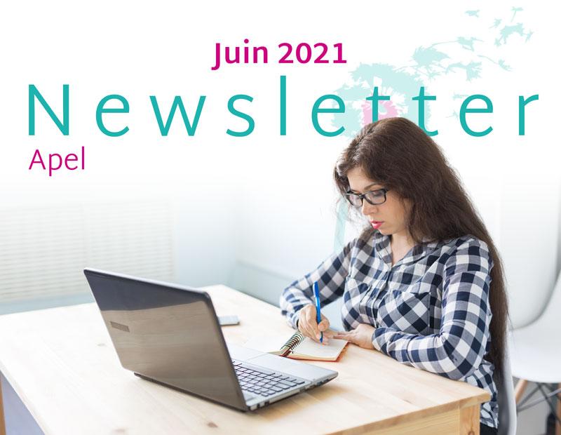 Newsletter Apel Juin 2021
